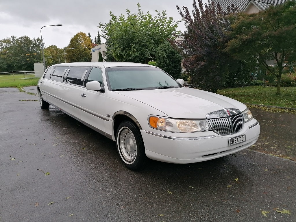 Limousine weiss Lincoln